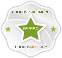 'Famous Software Award' by Download.FamousWhy.com